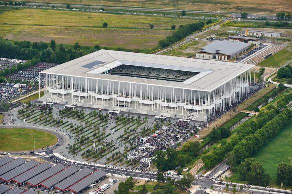 nouveau stade de Bordeaux Architecture