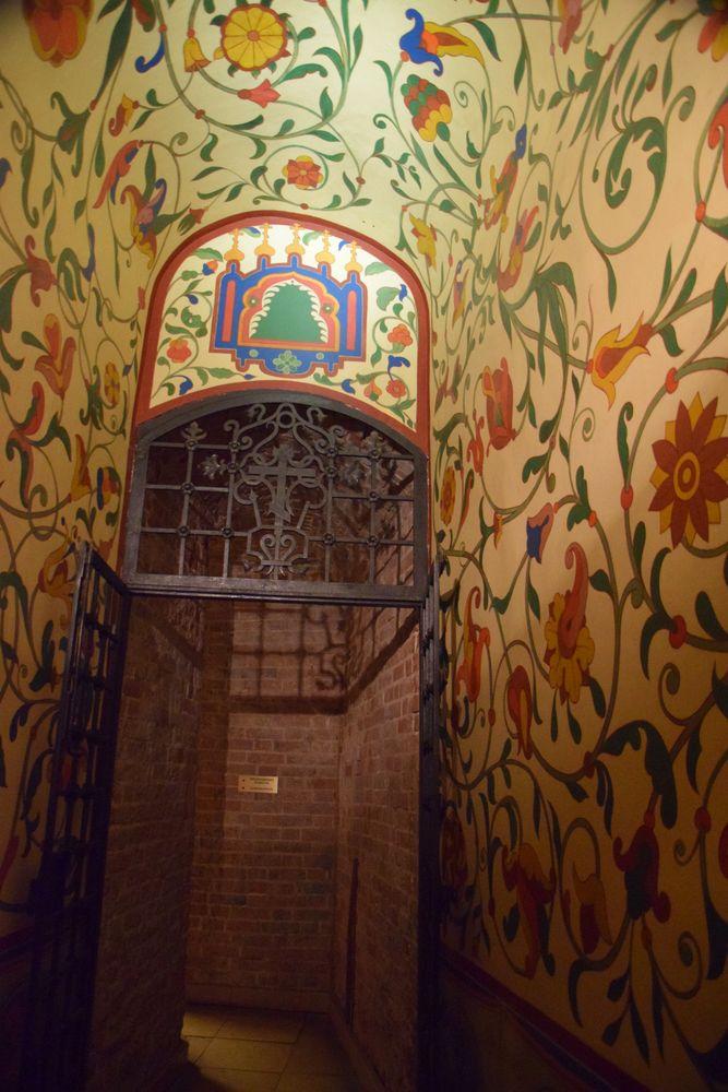 couloir cathédrale Basile-le-Bienheureux moscou moscow russie russia