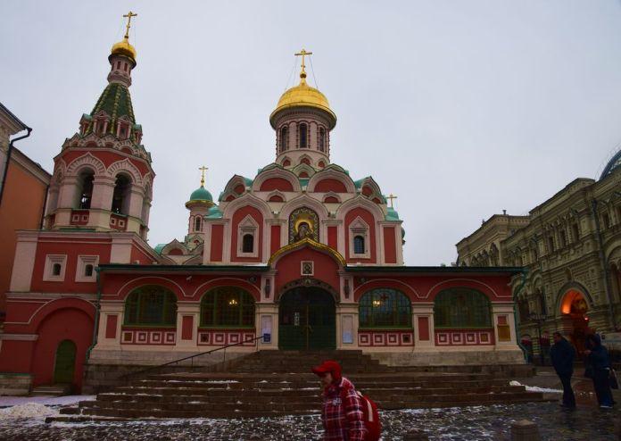 Cathédrale de Kazan à Moscou. Photo City Breaks AAA+, Claude Mandraut.