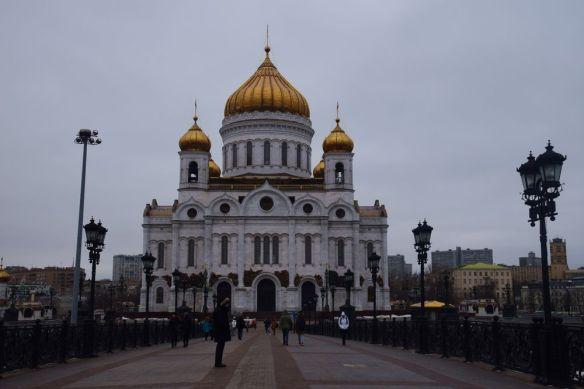 cathédrale du christ-sauveur moscou moscow russie russia