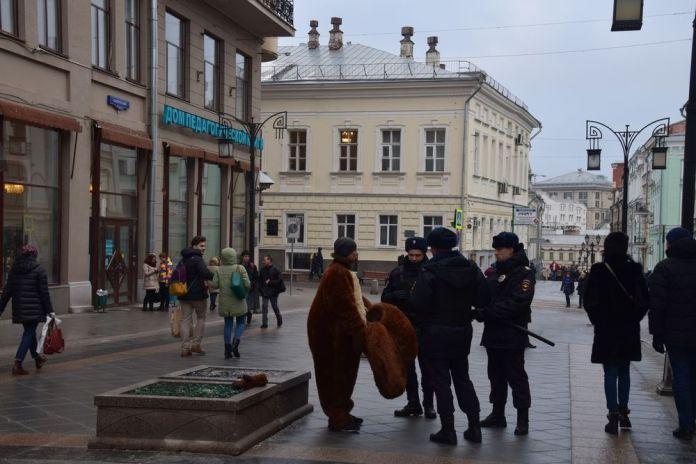 scène de la vie quotidienne à moscou moscow russie russia