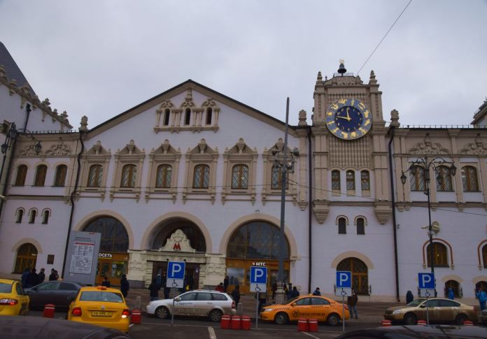 gare de kazan moscou moscow russie russia