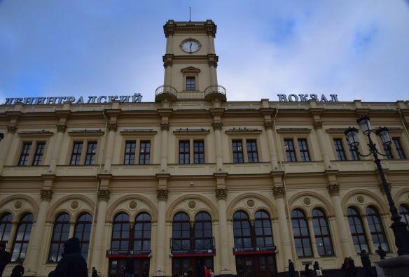 gare de saint-pétersbourg moscou moscow russie russia