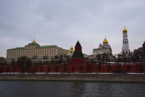 kremlin vu depuis sainte sophie moscou moscow russia russie
