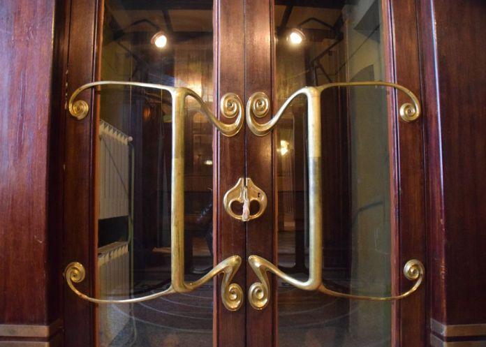 détail porte entrée maison musée gorki moscou moscow russie russia
