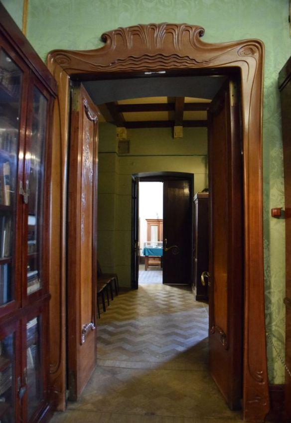 encadrement porte maison musée gorki moscou moscow russie russia