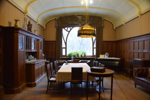 salle à manger maison musée Gorki moscou moscow russie russia