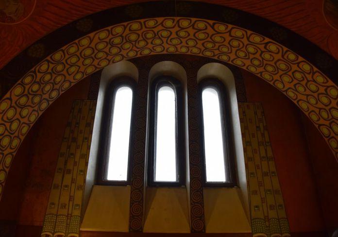 fenêtre arche maison musée gorki moscou moscow russie russia