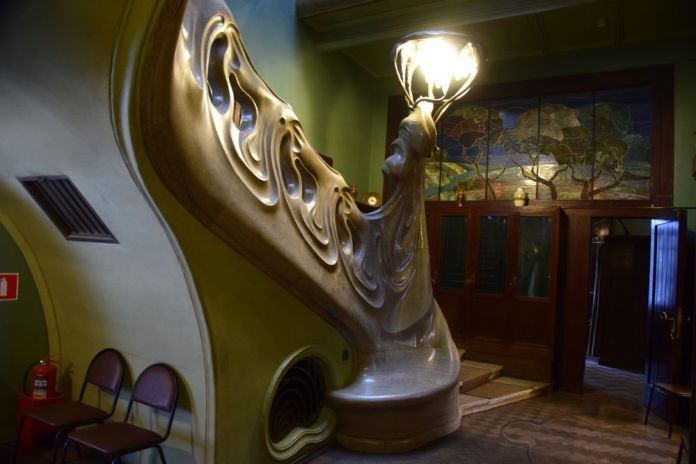 escalier maison musée gorki moscou moscow russie russia