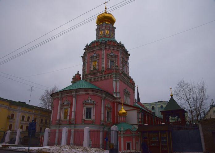 monastère de l'épiphanie moscou moscow russie russia