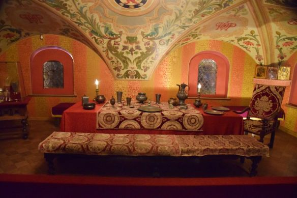 salle à manger palais romanov moscou moscow russie russia
