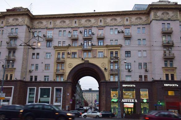 ensemble rue Tverskaïa Moscou
