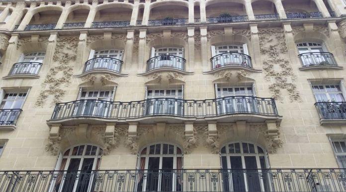 immeuble rue huysman paris