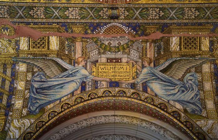 mosaïques kaiser Wilhelm Gedachtnis berlin