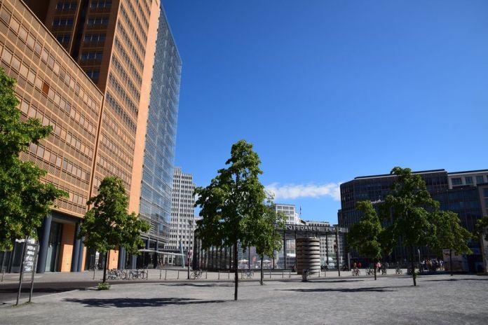 terre cuite Potsdamer platz berlin