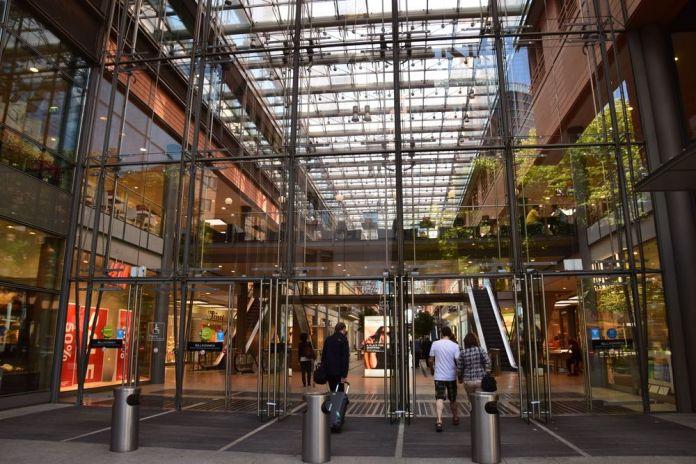 galerie marchande Potsdamer platz berlin