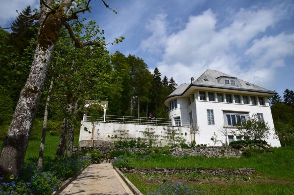 maison blanche jardin du bas