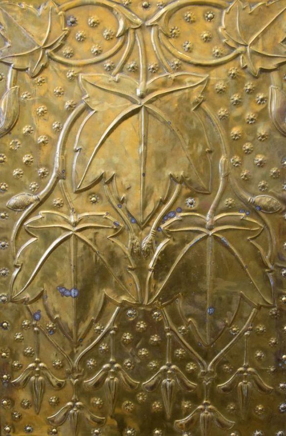 plaque cuivre hall de la poste la chaux de fonds suisse switzerland
