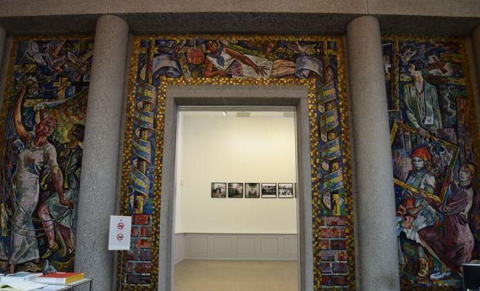 panneau mosaïques musée des beaux arts la chaux de fonds suisse switzerland