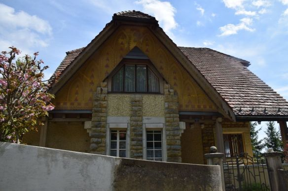 villa fallet chaux de fonds entrée suisse switzerland
