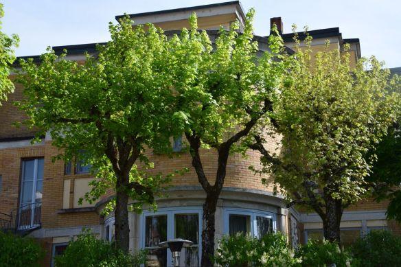 bâtiment angle villa turque la chaux de fonds suisse switzerland
