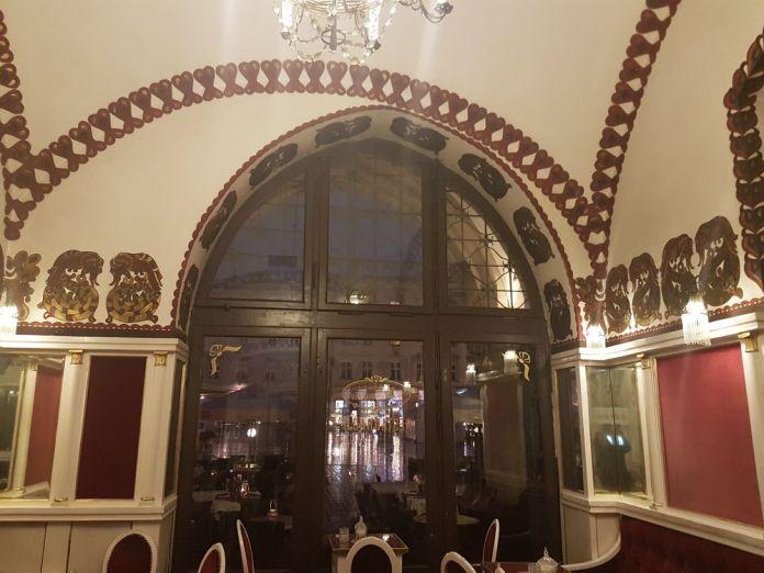 arches du café Noworolski art nouveau cracovie