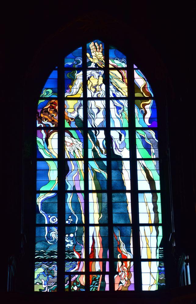 vitrail wyspianski église des franciscains cracovie