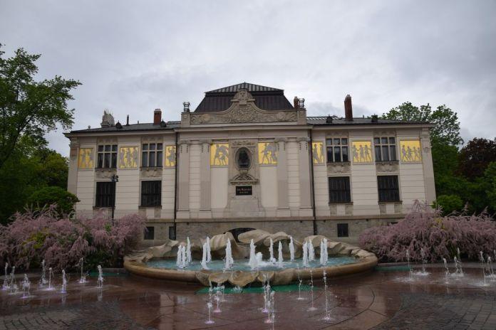 palais des arts à Cracovie