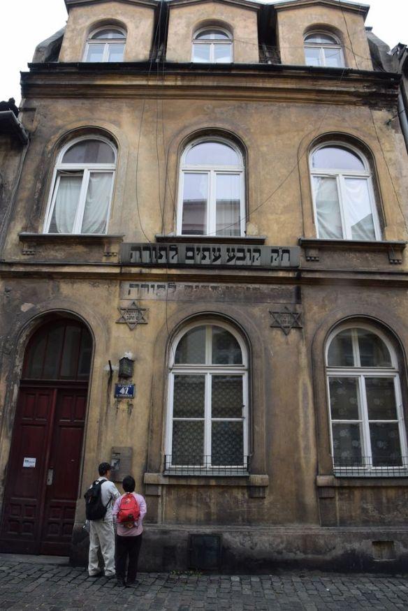 bâtiment quartier juif cracovie