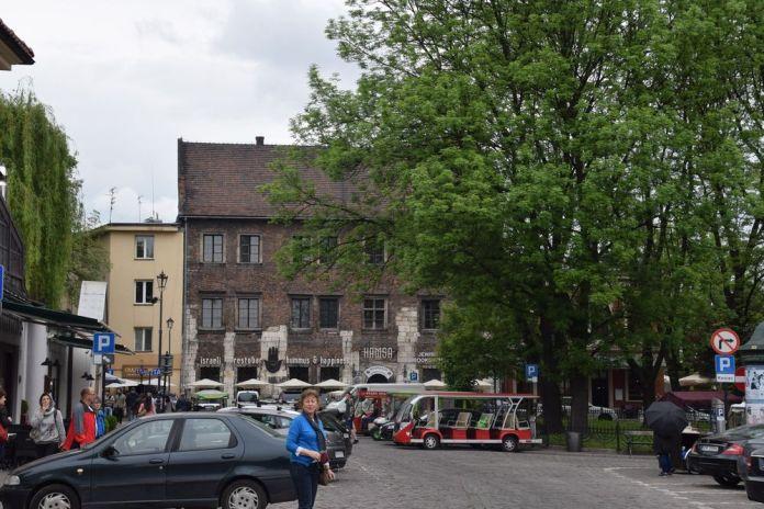transformation du quartier juif de Cracovie