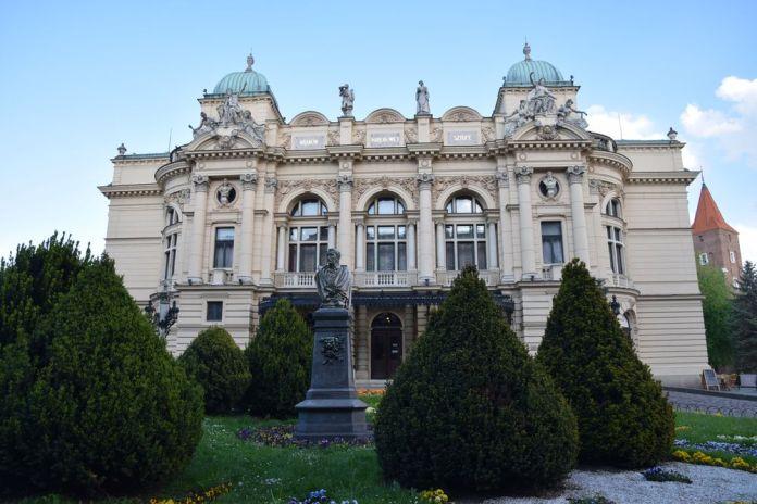 théâtre juliusz Slowacki à Cracovie