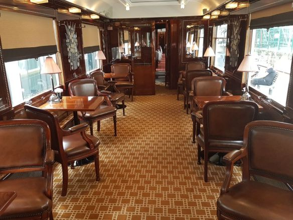 partie bar Orient express