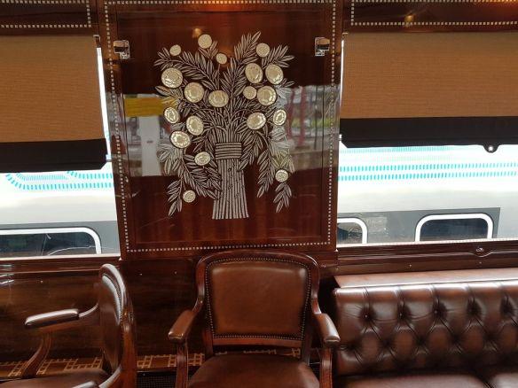 bois précieux t cuir Orient Express