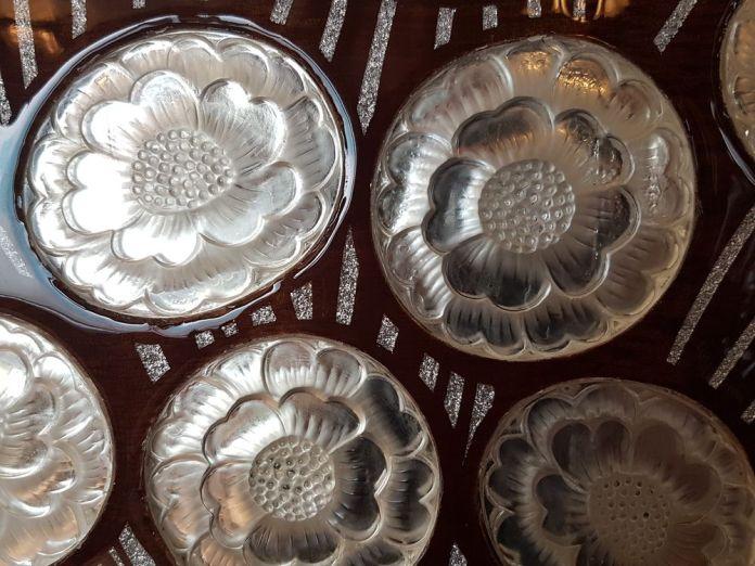 détails pâtes de verre Lalique