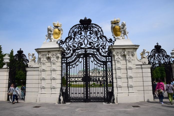 portail entrée belvédère vienne
