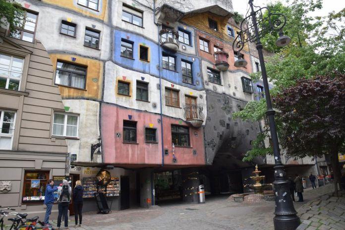 couleurs Hundertwasser haus vienne
