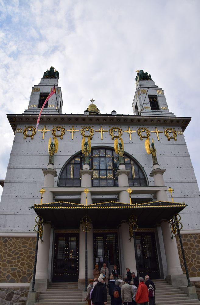 entrée église Steinhof vienne