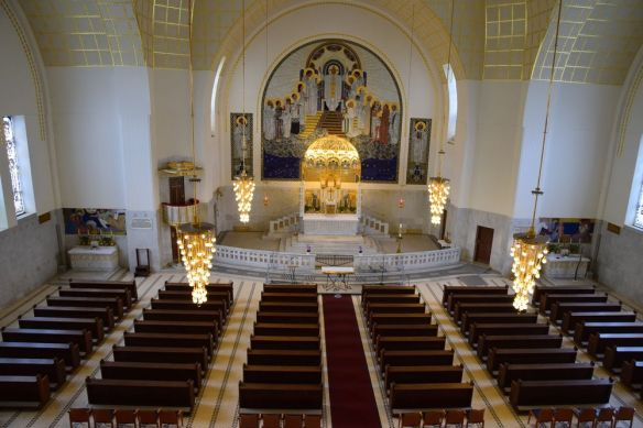 grands volumes église Steinhof vienne