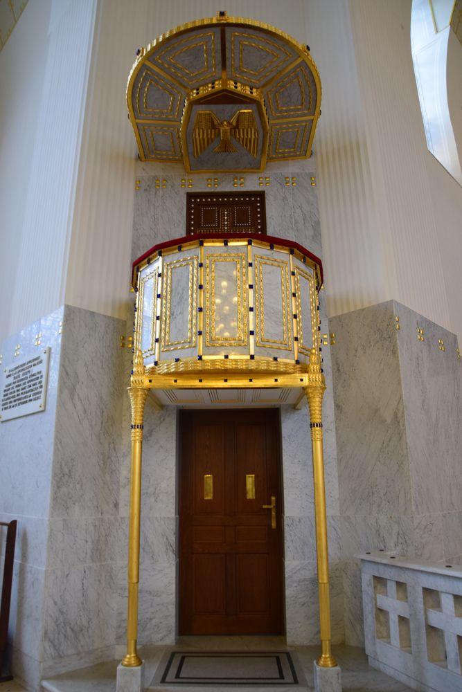 chaire église steinhof vienne
