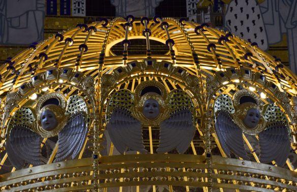 coupole dorée anges steinhol vienne