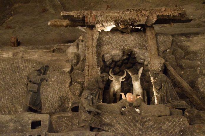 crèche chapelle sainte kinga Wielickza