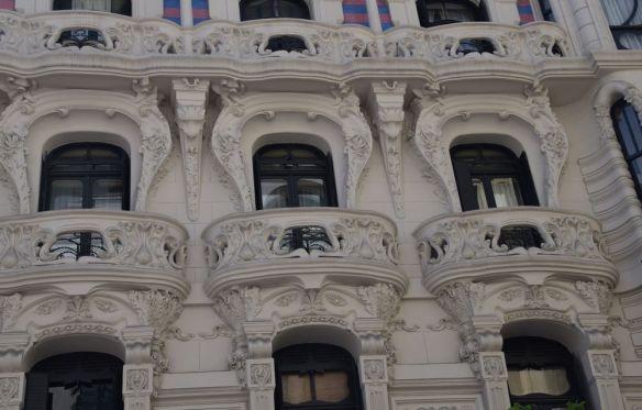 encadrement ouvertures Casa Montero Bilbao