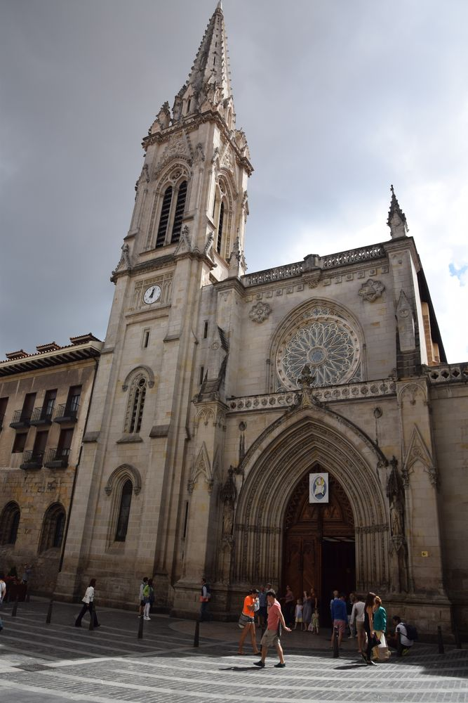 cathédrale bilbao casco viejo