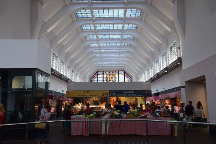 halle du marché de la ribera a bilbao