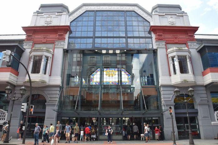 entrée principale marché de la ribera bilbao