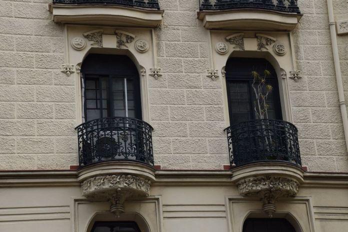 immeuble moderniste rue alameda recalde