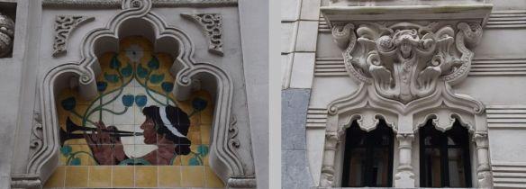 détail décors teatro campos eliseos bilbao