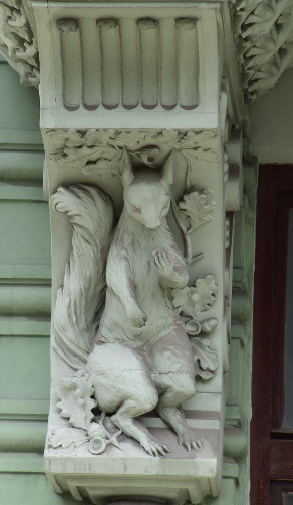 écureuil art nouveau bratislava