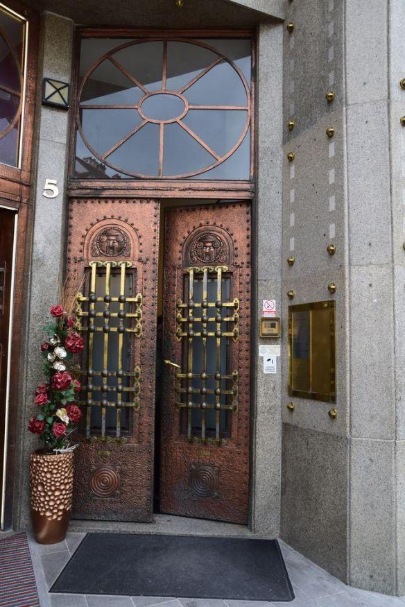 porte entrée café roland bratislava