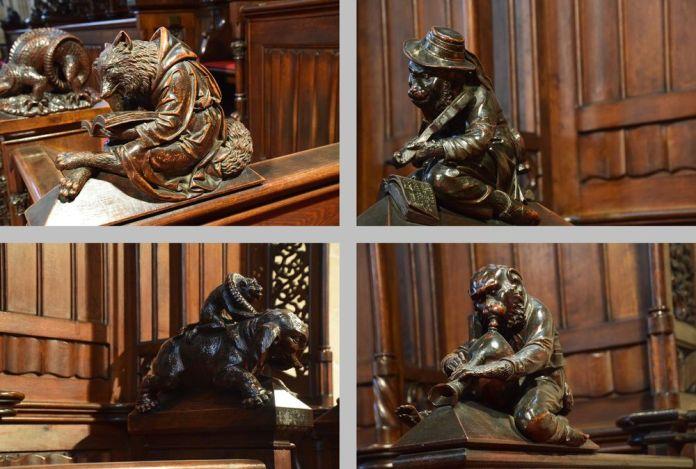 décors animaliers cathédrale Bratislava